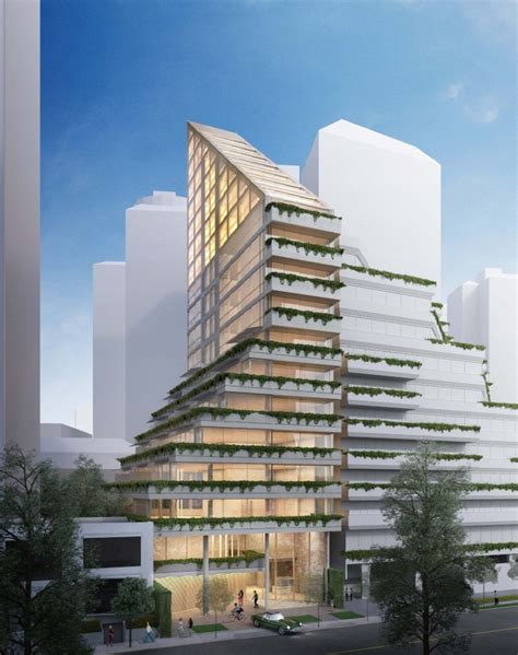 japanese architect to build world s tallest hybrid timber