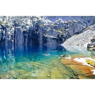 Precipice Lake Photo by Michael Larkin — National