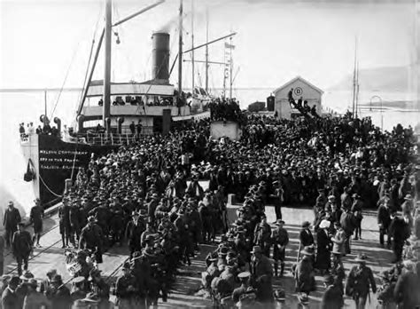 Boat Kept On A Larger Ship by Nelson Ships And World War I