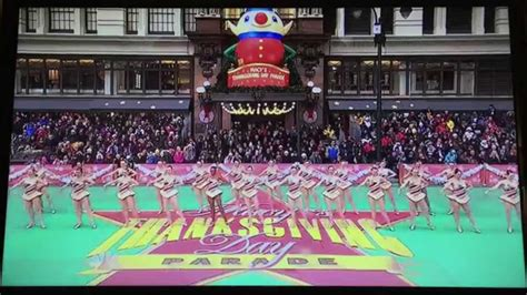 rockettes macys thanksgiving day parade  youtube