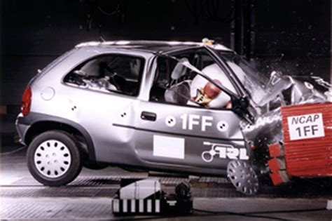 official opelvauxhall corsa  safety rating