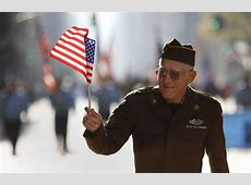 Veterans Day ceremonies honor the nation's current and