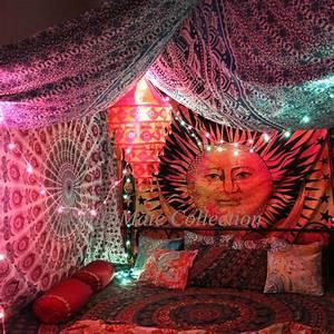 Buy Karvi Sun Moon Tie Dye Wall Tapestry Online at