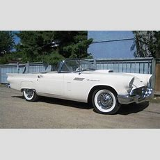 100 Pm Saturday Feature! 1957 Ford Thunderbird Roadster