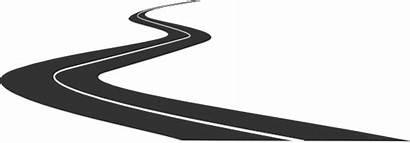 Road Curving Clip Clipart Vector Clker