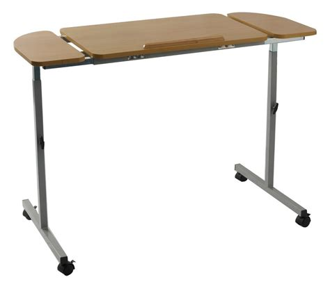 sharper image best over bed table overbed adjustable tilt table adjustable tilting over bed over chair table over