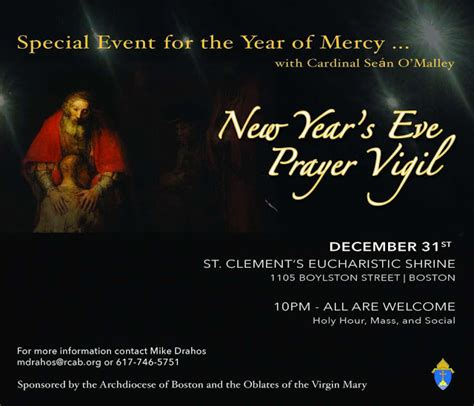best prayers for welcoming a new year agnes catholic church december 2015