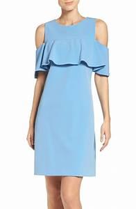 the best cold shoulder dresses for spring wedding guest With powder blue dress for wedding guest