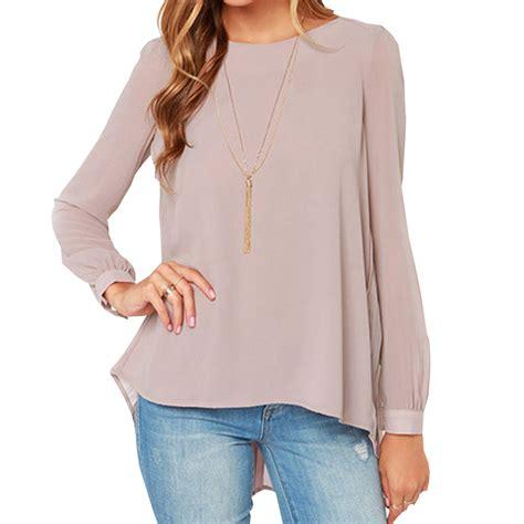 chiffon blouses aliexpress com buy 2015 fashion blouse