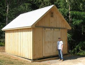 guide to shed free access shed build on site