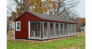 8 dog kennels large dog kennels horizon structures With prefab dog kennel buildings