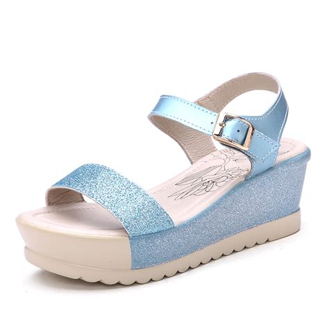 Gosh Flat With High Wedges 2015 summer style wedges fashion high heels shoes