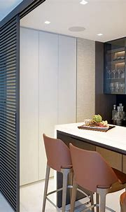 Modern Home Bar Design in Luxury Sunny Isles Condo in 2021 ...
