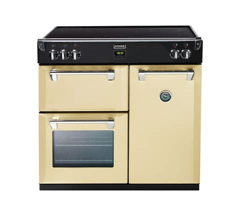 stoves induction range cooker buy stoves richmond 900ei electric induction range cooker chagne free delivery currys
