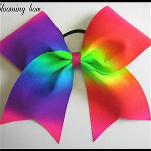 Best Neon Cheer Bows Products on Wanelo