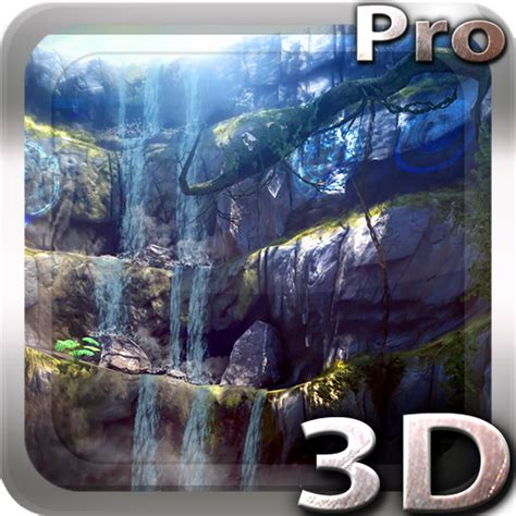 3d Waterfall Pro Live Wallpaper