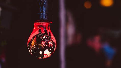 red bulb  ultrahd wallpaper wallpaper studio  tens