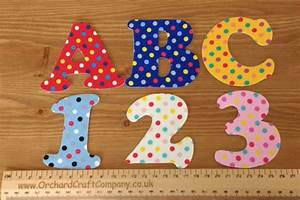 iron on fabric letters and numbers 75 cm With light blue iron on letters