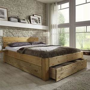 Bett 160x200 Mit Bettkasten : best 25 bett 180x200 holz ideas on pinterest holzbett 180x200 betten 160x200 and bett 200x200 ~ Frokenaadalensverden.com Haus und Dekorationen