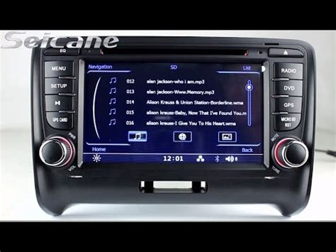 20062013 Audi Tt Mk2 Radio Stereo Removal Upgrade With 3d