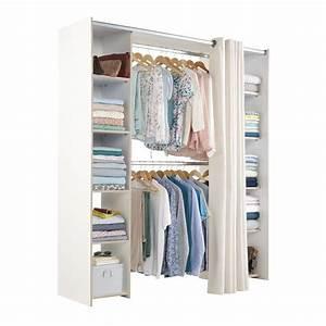 Dressing Tout En Un Avec Rideau : rideaux pour dressing topiwall ~ Dailycaller-alerts.com Idées de Décoration