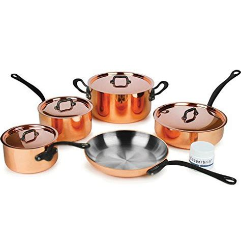 mauviel mheritage mc  piece  mm copper cookware  httpswwwamazoncomdpbnl