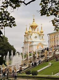 Petersburg Russia Peterhof Palace