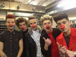 One Direction Red Nose Day - One Direction Photo (33937558 ...