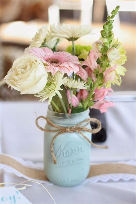 Cuteower Centerpieces For A Bridal S Er Shelterness