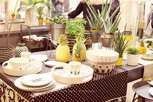Ananas Deco Blanc : mo2016 de la couleur du noir blanc des ananas et des coquelicots les petits riens ~ Teatrodelosmanantiales.com Idées de Décoration