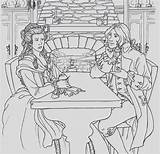Coloring French Revolution Duplay Elisabeth Wife Awesome sketch template