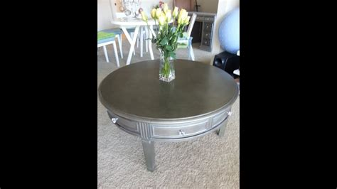 furniture makeover silver modern style youtube