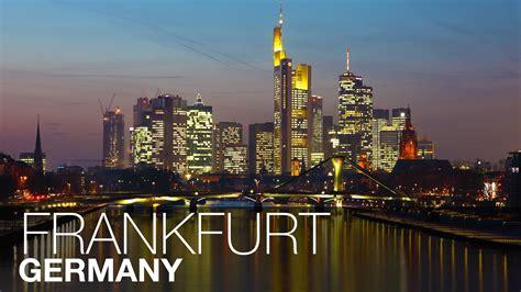 Frankfurt Full Of Snow Frankfurt Germany Youtube