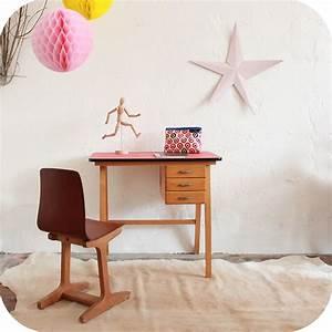 Bureau Vintage Enfant Annes 50 Annes 60 Atelier Du