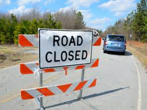 Image result for images of road closed signs