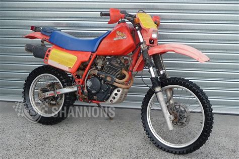 sold honda xr500 road motorcycle auctions lot 14