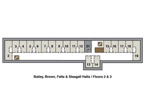 floor plans university housing