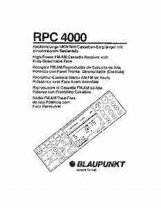 Service Manual   Blaupunkt Rpc