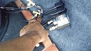 Air Suspension Paddle Valve Setup