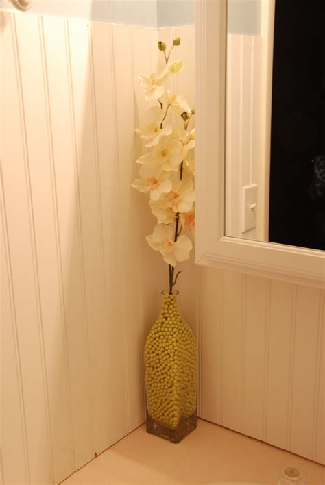 Bathroom Flower Arrangement The Creative Mom