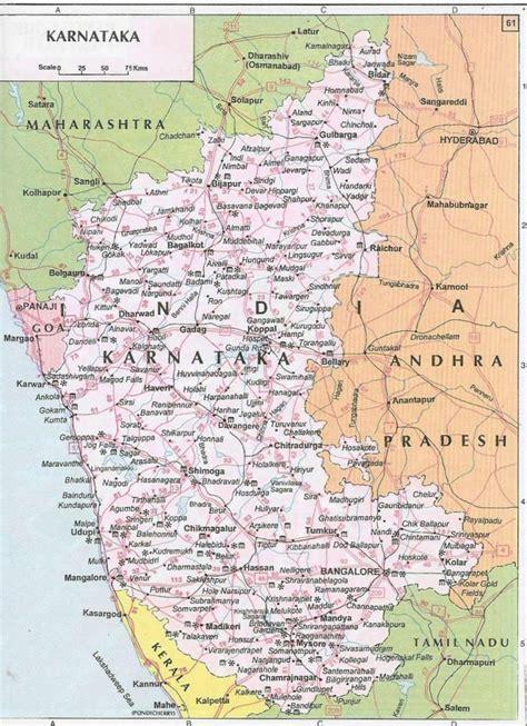 karnataka map india travel forum indiamikecom