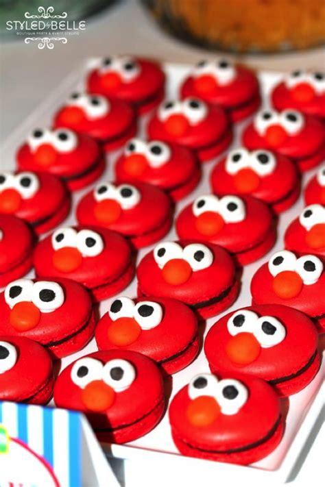Elmo Birthday Party Cookies