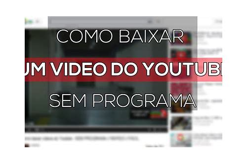 baixar link de video para mp4 do youtube