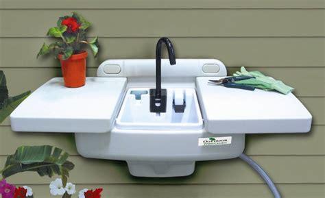 outdoor sink workstation