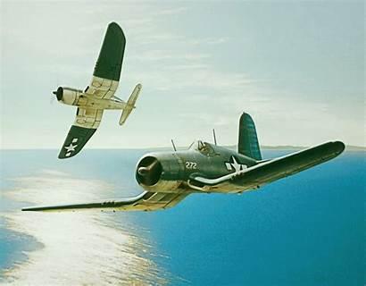 Corsair F4u Vought Ww2 Pacific Aviation Warriors