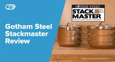 Gotham Steel Stackmaster Reviews - Is It Worth the Price?