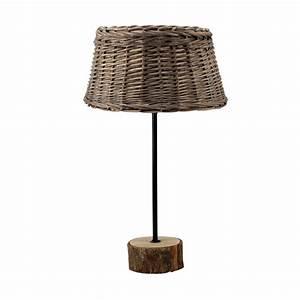 Abat Jour Rotin : lampe en rotin r sine m tal et plastique marron interior 39 s ~ Teatrodelosmanantiales.com Idées de Décoration