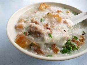 Hong Kong Porridge 粥 (Congee) at Kaka Lok Restaurant 家家樂 ...