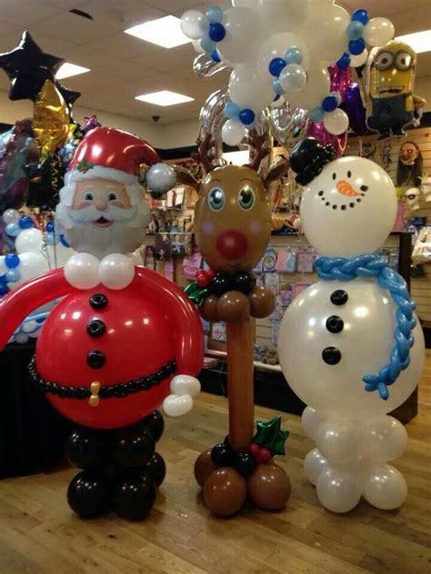 images  christmas balloon decor  pinterest