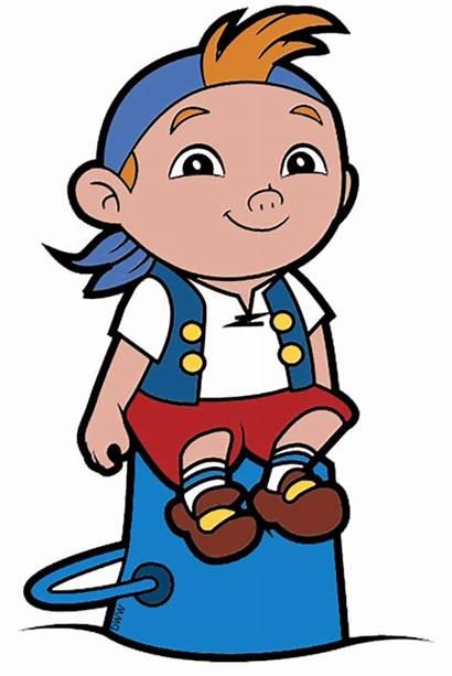 Cubby Sitting Clip Jake Neverland Pirates Bucket
